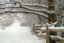 """paysages de neige=""""la paix"""""""