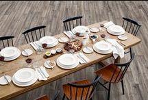 Keittiö ja ruokailutila / Värisilmän valikoimasta löydät tuotteet keittiöön ja ruokailutilaan. Kysy myös Tunnetila-sisustuspalvelustamme. www.varisilma.fi / by Värisilmä