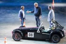 Top Gear Live (5/07/14) / Jeremy Clarkson, Richard Hammond, James May and The Stig for the first time in Italy @ Palaolimpico in Turin