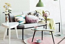 Stylish zalm / Scandinavisch interieur
