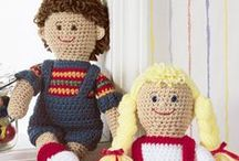 Crochet Toys and Doll Patterns / Crochet Toys and crochet doll patterns on the web