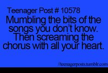 Teenager posts :) / Please pin only cool TEENAGER POSTS!