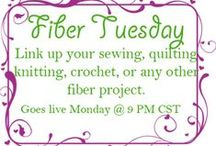 Fiber Tuesday Link Party / These are the wonderful linkups who joined our Fiber Tuesdays link party. Stop by www.ouicrochet.com every Tuesday to link your fiber creations!