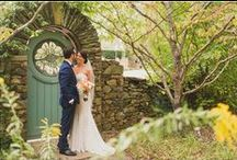 {Fall} Real Wedding: Wendy + Tomer / Stephanie Dee Photography captures Wendy + Tomer's big day at Airlie on September 20, 2015.