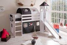 Piratas / Ideas, inspiración, fotos para decorar habitaciones infantiles de temática pirata.