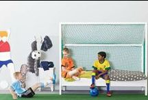 Futbol / Habitaciones infantiles de temática Fútbol