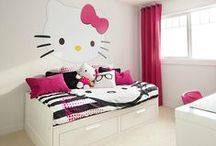 Hello Kitty / Habitaciones de Hello Kitty