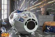 Star Wars / Habitaciones infantiles temáticas de Star Wars