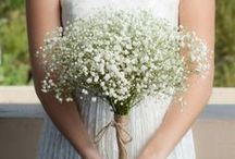 Baby's Breath Wedding Ideas / Baby's breath is a pretty flower that makes beautiful bouquets, boutonnieres and centerpieces. Perfect for a rustic wedding! DIY your wedding flowers with a baby's breath kit from itsbyu.com. Save $$ and add your own personal touch to your wedding. It's so easy and fun - anyone can do it!