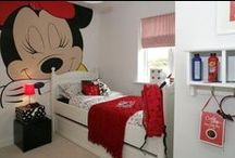 Mickey & Minnie / Decoración de habitaciones infantiles de Mickey y Minnie