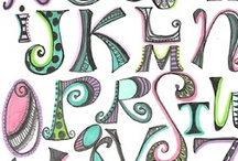 Alphabets / by Debby Morris High