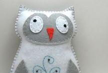 Owl Felt / by Debby Morris High