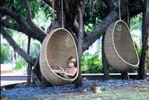 Fun Garden Stuff / Garden furniture, plants, attracting beneficial animals, etc