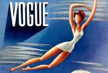 Vogue / Vintage Vogue Covers / by Clare O'Connor