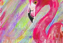 Clare O'Connor Design / Original artwork, prints and commissions by me, Clare O'Connor. Check out the gallery and see what you fancy. http://clareoconnordesign.com  / by Clare O'Connor
