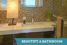 Bathroom Projects / From luxurious to over-the-top, these bathroom remodels are sure to inspire. / by HGTV How-To Library