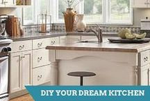 Kitchen Projects / Get ideas for designing your dream kitchen,from flooring to sinks to kitchen islands.  / by HGTV How-To Library