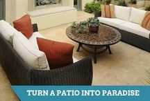 Patio Projects / From custom-built fireplaces to grand gathering spaces, find design inspiration for your patio. / by HGTV How-To Library