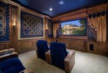Home Theaters / Media Rooms / These unique home theater themes show off the newest and most elaborate trends in home theater design. / by HGTV How-To Library