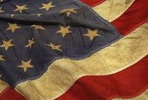 "✿⊱╮AMERICA THE BEAUTIFUL / ""Blessed is the nation whose God is the LORD..."" Psalms 33:12    / by Sharon Walea"