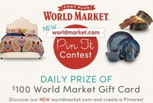 Worldmarket.com PIN IT Contest / by Scheron Brown