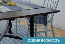 Dining Room Projects / From lighting designs to flooring options, these dining rooms are sure to inspire.  / by HGTV How-To Library