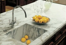 Kitchen Countertops / From granite to laminate that looks like granite, here are countertop ideas for your kitchen.  / by HGTV DIY Library