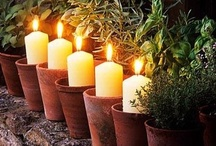 Candles / Ideas and inspirations for candle-making, decorating and creating ambiance.   / by Mirian Mendes