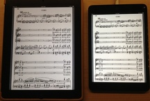 Sheet Music on iPads and Tablets
