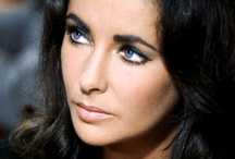 Elizabeth / Iconic beauty:  fur, diamonds and eyeliner for those violet eyes. / by Mirian Mendes