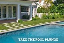 Pools and Spas / Inspiration for designing a swimming pool, pool deck, hot tub or spa.  / by HGTV How-To Library