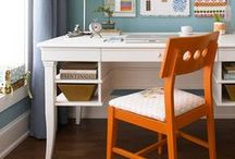photo room - home office / by Annie Lammers Farrell