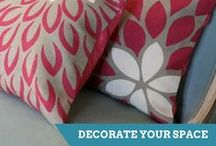 Accents & Décor Projects / Dress up your home and add personal touches with DIY decorating projects from HGTV experts. / by HGTV How-To Library