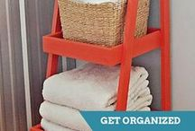 Storage & Organization / DIY projects to help corral clutter and keep your home organized. / by HGTV How-To Library