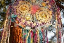 Bohemian Artistry and Lifestyle, Beauty and Adornment / Colorful Wa(u)nderlusting Soul....A fascination with threads,colors, creations of remakes and an ever moving, evolving (curiosity driven) life. / by Donita Hellmann