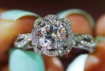Rings + Jewelry / Gorgeous wedding and engagement rings, necklaces, bracelets, earrings, and more