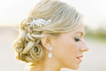 Wedding Glam / Wedding hair, beauty, and attire