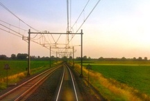 A Train Drivers Point of View / The world as seen from a traincabin.