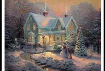 'Yuletide Carols Being Sung' / by Jane Ehret Ferris