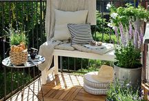 oasis of serenity / ideas and inspiration for my balcony garden