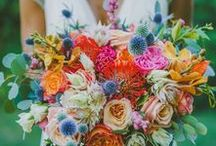 ° colorful, eclectic wedding stories / Colorful, bright, vibrant inspiration for style, bride's and wedding planning with a playful, bold color palette.