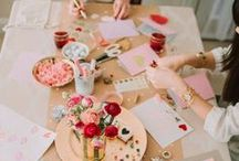 Galentine's Day party / fun, fresh ideas for throwing the best Galentine's Day party ever