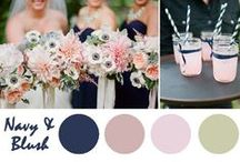 Wedding Color Palettes / A collection of gorgeous color combinations for weddings and events!