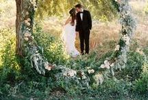 ° garden wedding stories / Bohemian bridal style for lovers of forests, gardens, and adventuring..
