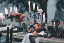 Wedding: Halloween/Gothic Theme / Obsessed with the Halloween holiday? Are you planing your wedding in October on or around Halloween? Consider a fun, spooky or friendly Halloween or gothic themed wedding!