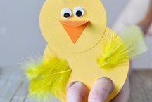 kids spring crafts / spring crafts for kids, preschool, toddlers