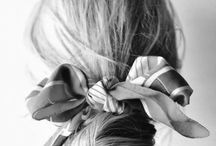 scarves ❤️ hair