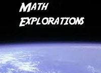 - Math Explorations - / This board is for anything and everything that even remotely resembles math--expand the boundaries of what we consider to be math!  (If you would like to be a contributor, just send me a message.)