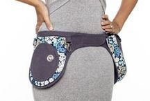 Liliputi® Mama Pocket Belt / In harmony with the Liliputi carrier collection, 1 big and 4 smaller pockets for all that you need, removable, watertight and washable nappy sack, adjustable on the front and on the back, designed by lengyelzsuzsi®  http://www.liliputibabycarriers.com/babywearing-diaper-pocket-belt
