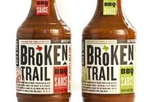 DESIGN | BBQ Hot Sauce Packaging / BBQ Sauce | Hot Sauce #hot #bbq #sauce